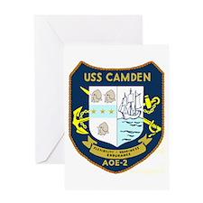 USS Camden (AOE 2) Greeting Card