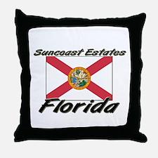 Suncoast Estates Florida Throw Pillow