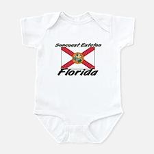 Suncoast Estates Florida Infant Bodysuit