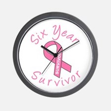 Six Year Survivor Wall Clock