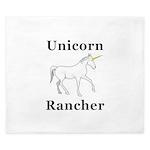 Unicorn Rancher King Duvet