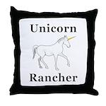 Unicorn Rancher Throw Pillow