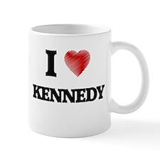 I Love Kennedy Mugs