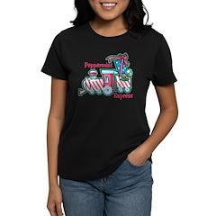 Peppermint Express Women's Dark T-Shirt