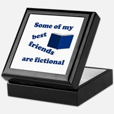 Some of my Best Friends are Fictional Keepsake Box