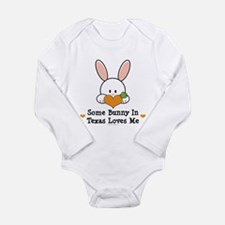 Unique San antonio travel Long Sleeve Infant Bodysuit