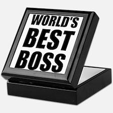 Worlds Best Boss 2 Keepsake Box
