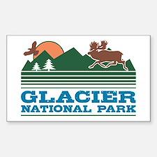 Glacier National Park Decal