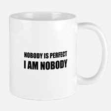 Nobody Is Perfect 2 Mugs