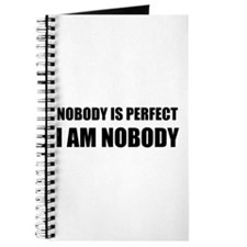 Nobody Is Perfect 2 Journal