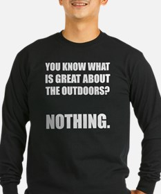 Outdoors Nothing 2 Long Sleeve T-Shirt
