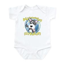 Crazy Flyball Dog Infant Bodysuit