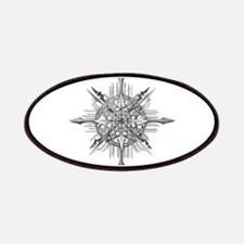 Symmetry, a Diatom by Ernst Haeckel Patch
