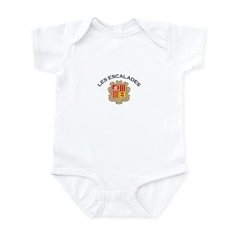 Les Escalades, Andorra Infant Bodysuit