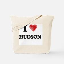 I Love Hudson Tote Bag