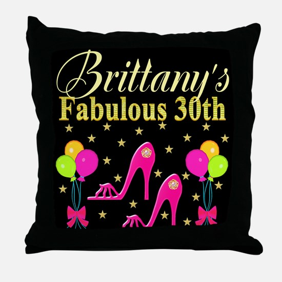 30TH PARTY Throw Pillow