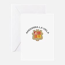 Andorra la Vella, Andorra Greeting Cards (Pk of 10