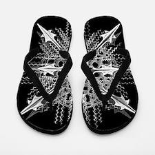 Symmetry, a Diatom by Ernst Haeckel Flip Flops