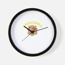 Andorra Wall Clock