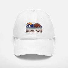 Grand Teton National Park Baseball Baseball Cap