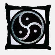 Unique Bdsm symbol Throw Pillow