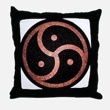 Cool Bdsm symbol Throw Pillow