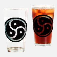 Funny Bdsm symbol Drinking Glass