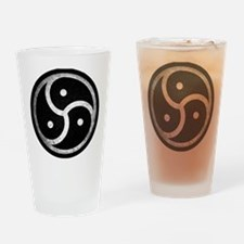 Cool Bdsm symbol Drinking Glass
