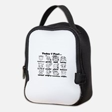 Japan/Anime Emotions Neoprene Lunch Bag