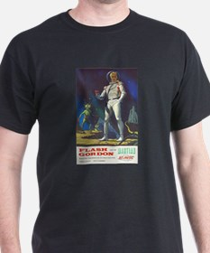 Flash Gordon and the Martian T-Shirt