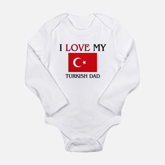 Cute Turkish flag Onesie Romper Suit