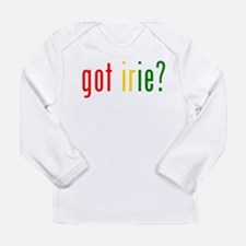 Cute Irie rasta rastafari rastafarian reggae Long Sleeve Infant T-Shirt