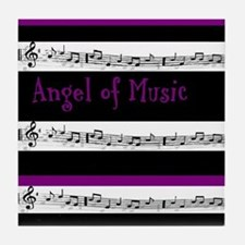 """Angel of Music"" Tile Coaster"