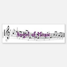 """""""Angel of Music"""" Bumper Bumper Bumper Sticker"""