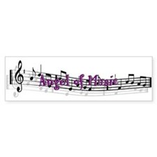 """Angel of Music"" Bumper Bumper Sticker"