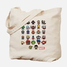 Marvel Kawaii Heroes Tote Bag