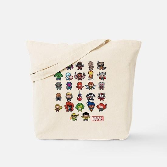 Marvel Kawaii Heroes Tote Bag