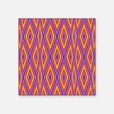 Bargello Quilt Pattern 1 Sticker