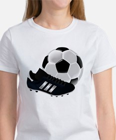 Soccer Ball And Shoes T-Shirt