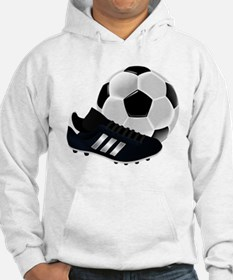 Soccer Ball And Shoes Hoodie