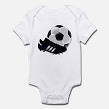 Soccer Ball And Shoes Body Suit