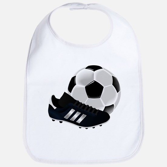 Soccer Ball And Shoes Bib
