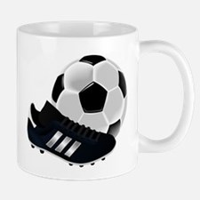 Soccer Ball And Shoes Mugs