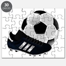 Soccer Ball And Shoes Puzzle