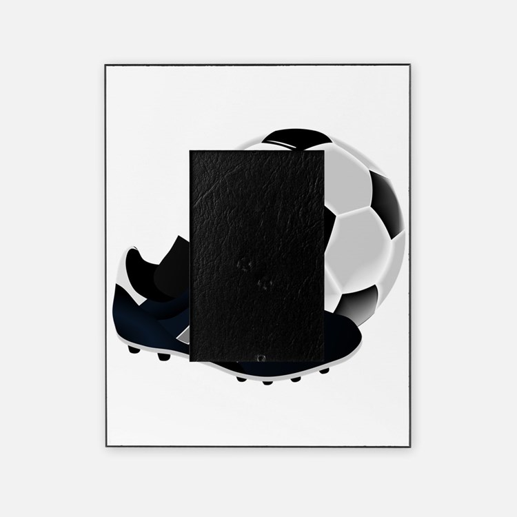 Soccer Ball And Shoes Picture Frame