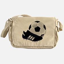 Soccer Ball And Shoes Messenger Bag