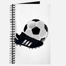Soccer Ball And Shoes Journal