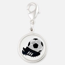 Soccer Ball And Shoes Charms
