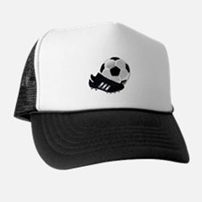 Soccer Ball And Shoes Trucker Hat
