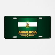 Andalucia Aluminum License Plate